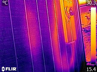thermal image small grow house